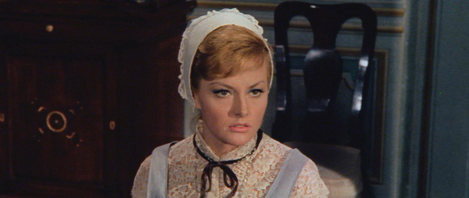 Barbara Wilson in La lama nel corpo (1966)