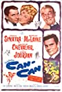 Frank Sinatra, Shirley MacLaine, Maurice Chevalier, and Louis Jourdan in Can-Can (1960)