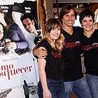 Ana Paula Arósio, Natália Lage, and Murilo Rosa at an event for Como Esquecer (2010)
