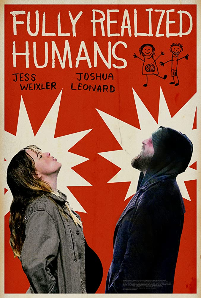 Joshua Leonard and Jess Weixler in Fully Realized Humans