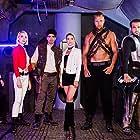 Aimee Stolte as Ajax in Battle Star Wars