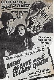 Enemy Agents Meet Ellery Queen Poster