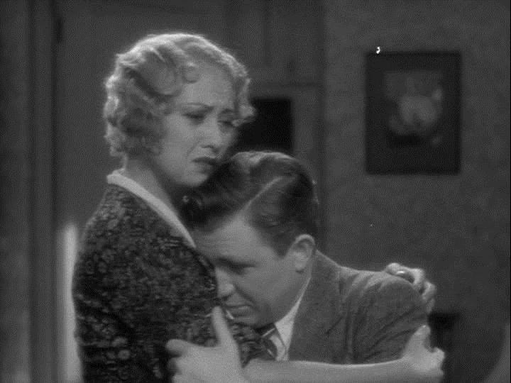 Joan Blondell and Stuart Erwin in Make Me a Star (1932)
