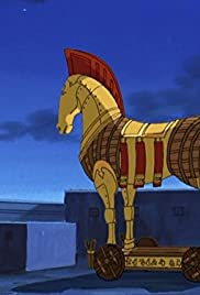 Ulysses and the Trojan Horse Poster