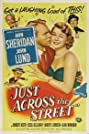 Just Across the Street (1952) Poster