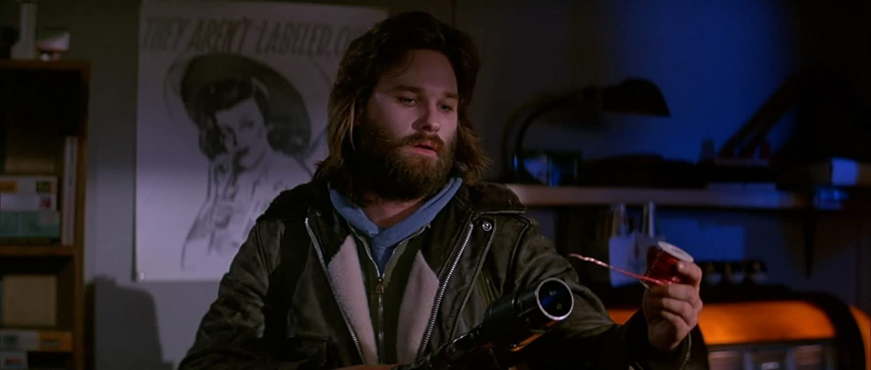Kurt Russell in The Thing (1982)