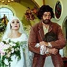 Adriana Esteves and Eduardo Moscovis in O Cravo e a Rosa (2000)