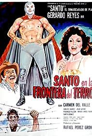 Santo en la frontera del terror (1969)