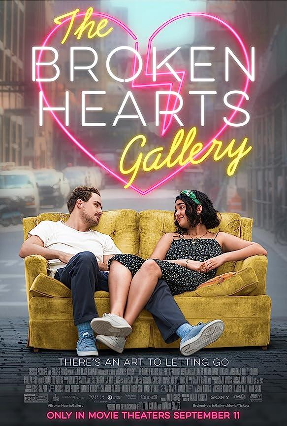The Broken Hearts Gallery (2020) Hindi Dubbed
