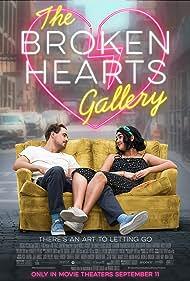 Dacre Montgomery and Geraldine Viswanathan in The Broken Hearts Gallery (2020)