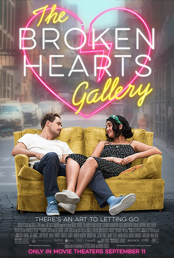 The Broken Hearts Gallery 2020 English 720p HDRip 800MB | 350MB Download