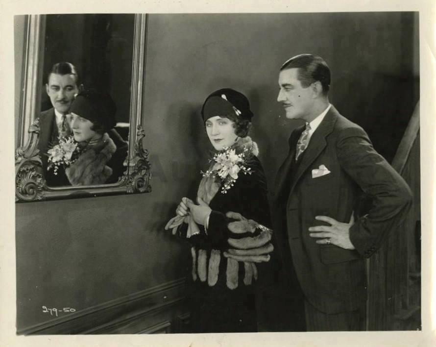 Ward Crane and Norma Shearer in Upstage (1926)