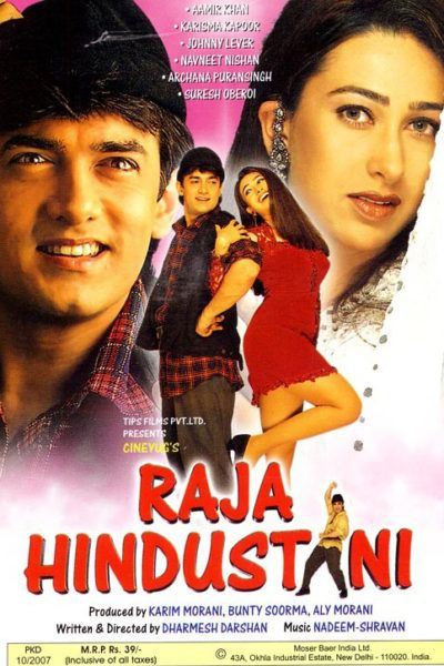 Raja Hindustani 1996 Hindi 720p BluRay 1.2GB ESubs Download