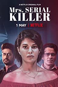 Manoj Bajpayee, Jacqueline Fernandez, and Mohit Raina in Mrs. Serial Killer (2020)