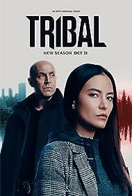 Brian Markinson and Jessica Matten in Tribal (2020)