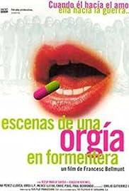 Escenes d'una orgia a Formentera Poster