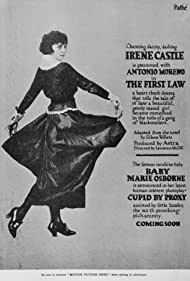 Irene Castle in The First Law (1918)