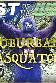Suburban Sasquatch Poster