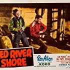 Rex Allen and William Phipps in Red River Shore (1953)