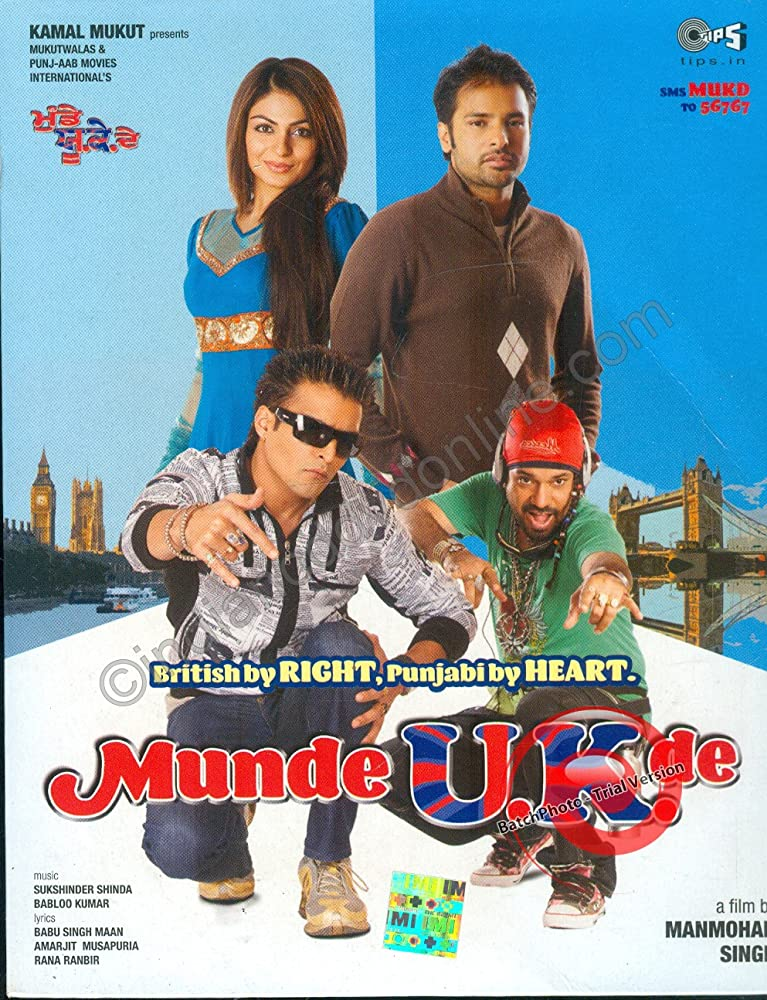 Munde U.K. De Full HD Punjabi Movie