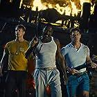 Idris Elba, John Cena, and Joel Kinnaman in The Suicide Squad (2021)
