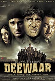 Deewaar: Let's Bring Our Heroes Home Poster