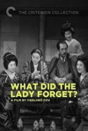 What Did the Lady Forget? Poster