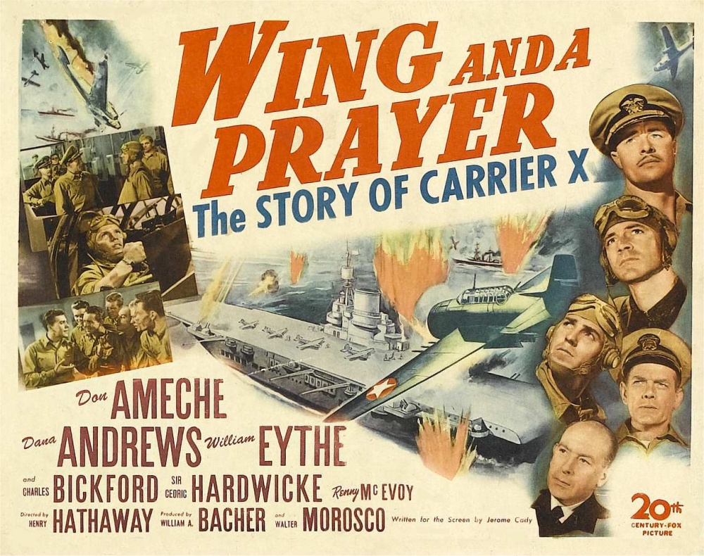 War Movie : Wing and a Prayer (1944)