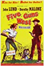 Five Guns West (1955) Poster