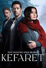 Nurgül Yesilçay, Yurdaer Okur, and Mert Firat in Kefaret (2020)