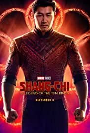 Movie Poster for Shang-Chi.