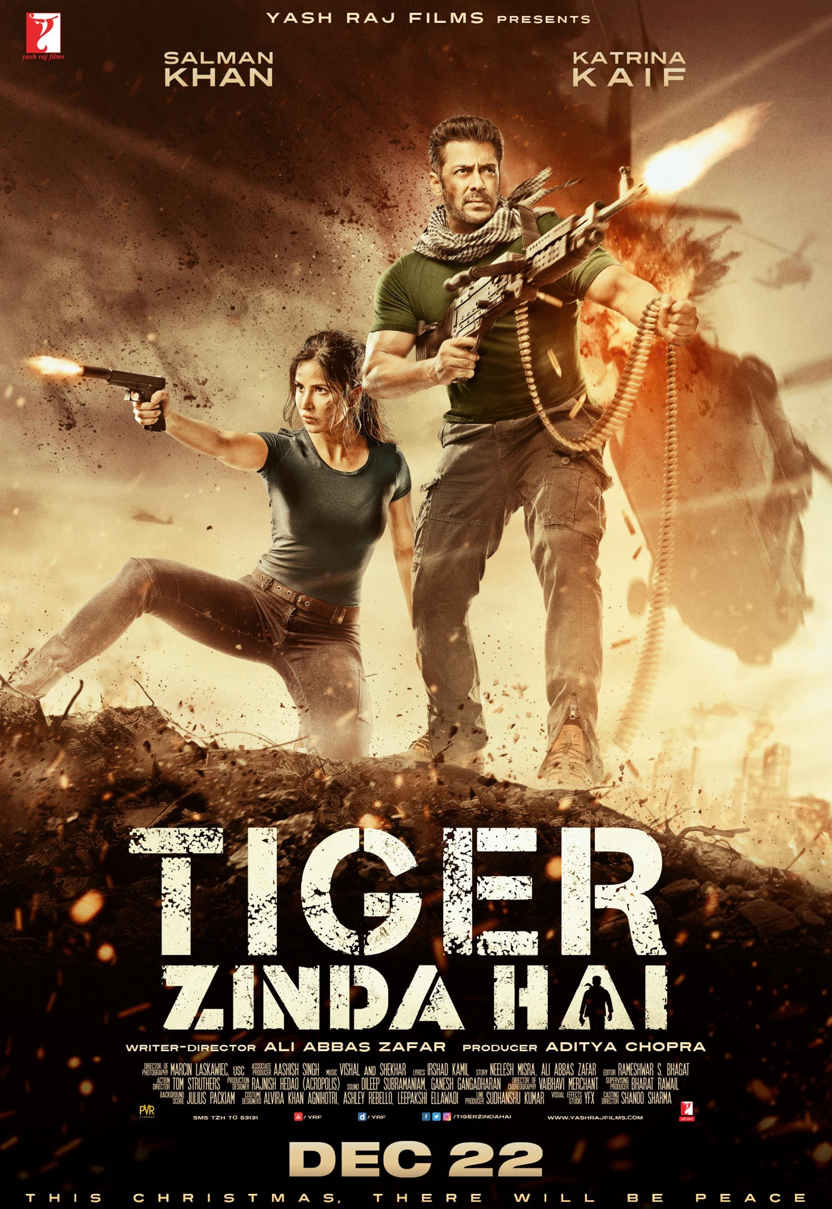 Tiger Zinda Hai (2017) BluRay 720p & 1080p