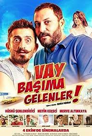 Metin Keçeci, Hüsnü Senlendirici, and Merve Altinkaya in Vay Basima Gelenler (2013)