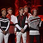 Miles Wesley, Jaden Gray, Devin Hayes, Jay Gilbert, and Andrew Bloom in Boy Band (2017)