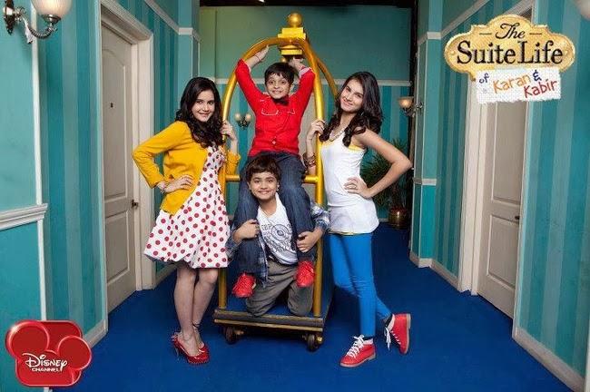 Siddharth Thakkar, Tara Sutaria, Namit Shah, and Shivshakti Sachdev in The Suite Life of Karan & Kabir (2012)
