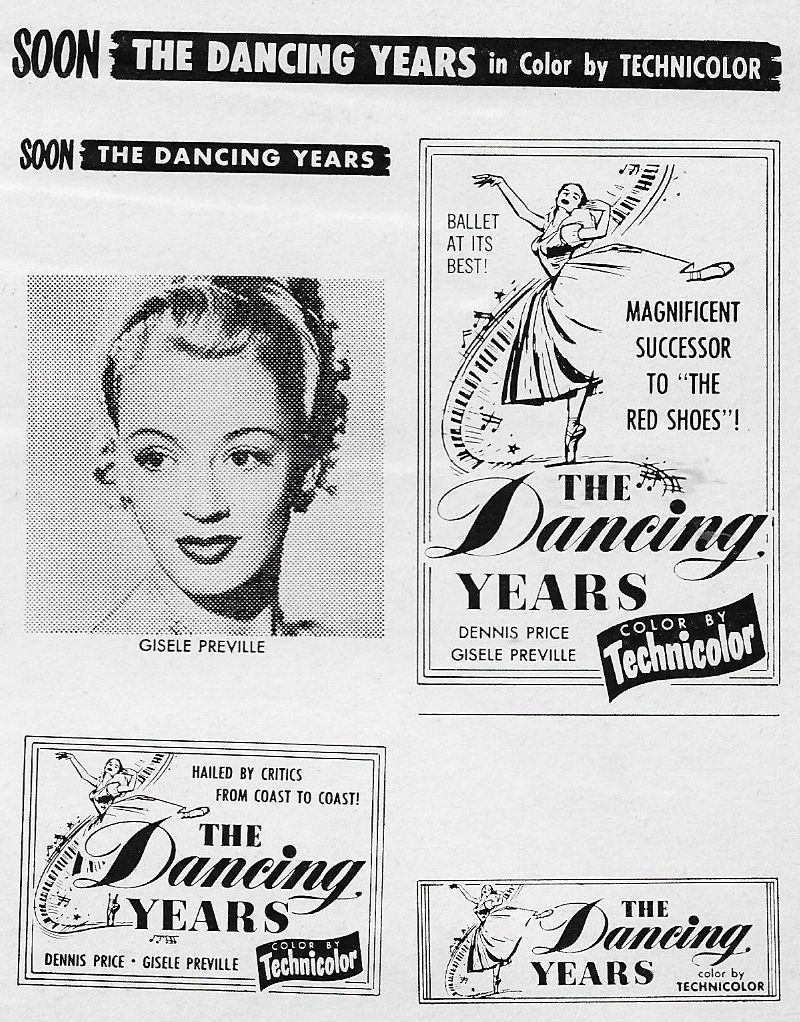 Gisèle Préville in The Dancing Years (1950)