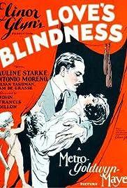 Love's Blindness Poster