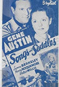 Gene Austin and Lynne Berkeley in Songs and Saddles (1938)