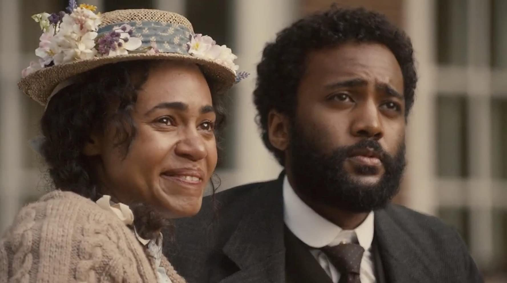 Dalmar Abuzeid and Cara Ricketts in What Can Stop the Determined Heart (2019)