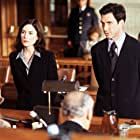 Lara Flynn Boyle and Dylan McDermott in The Practice (1997)
