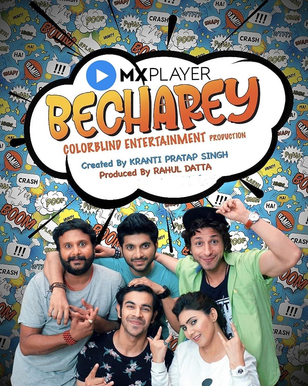 Download Becharey 2021 S01 Hindi MX Original Complete Web Series 480p HDRip 370MB