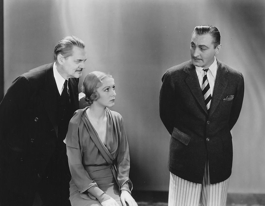 John Barrymore, Lionel Barrymore, and Karen Morley in Arsène Lupin (1932)