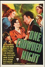 One Crowded Night Poster