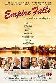 Paul Newman, Helen Hunt, Ed Harris, Philip Seymour Hoffman, Robin Wright, Dennis Farina, Aidan Quinn, and Joanne Woodward in Empire Falls (2005)