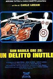 San Babila-8 P.M. Poster