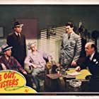 Charles Butterworth, Leonard Carey, Walter Catlett, and William Frawley in Give Out, Sisters (1942)