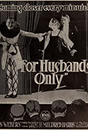 For Husbands Only Poster