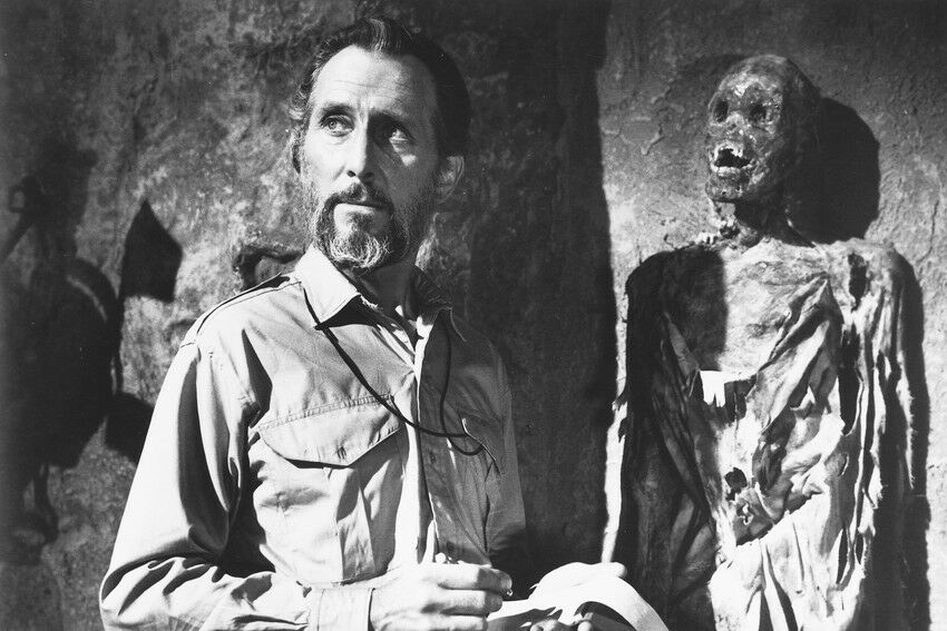 Peter Cushing in She (1965)