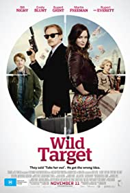 Rupert Grint, Bill Nighy, and Emily Blunt in Wild Target (2010)