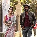 Rajinikanth and Nayanthara in Darbar (2020)